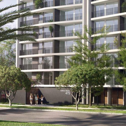 Vista principal proyecto Maitén de La Florida